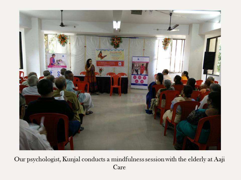 mindfulness elderly aaji care
