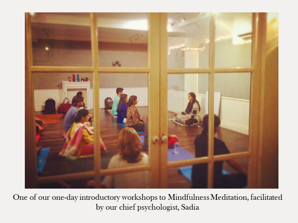 mindfulness meditation introduction workshop